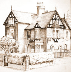 Ferndell bed & breakfast sketch